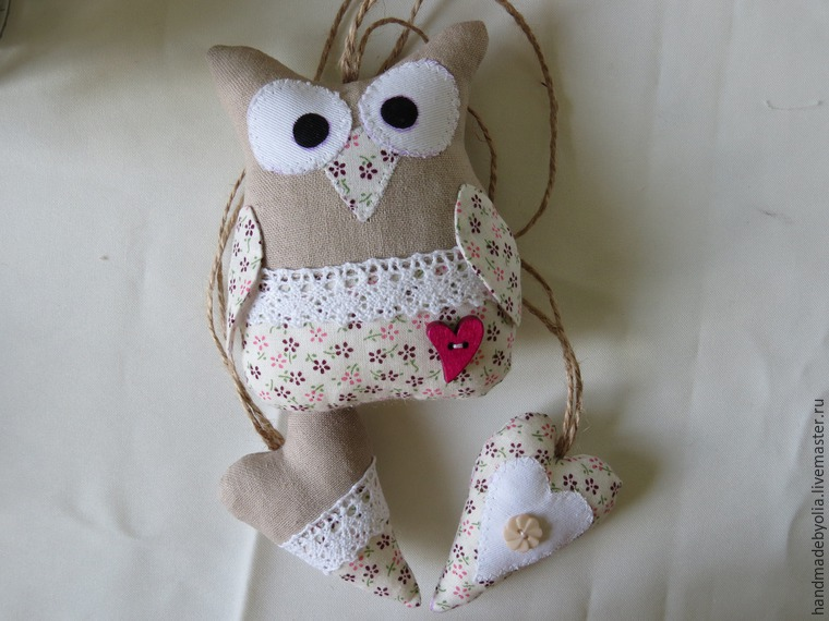 We sew a naughty owl on the branch, photo number 40