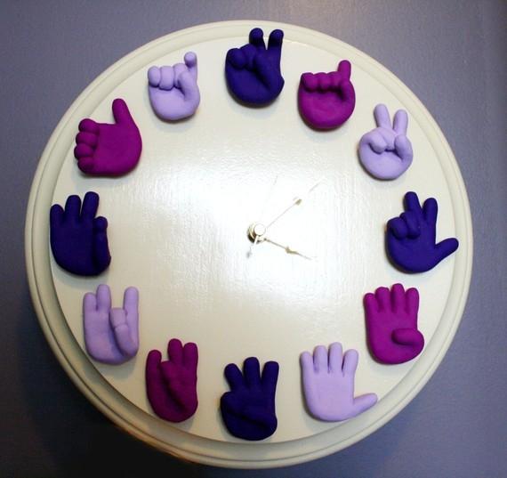 Siirrytään eteenpäin! Tai täsmälleen 50 DIY-kelloideota! osa 1, valokuva numero 17