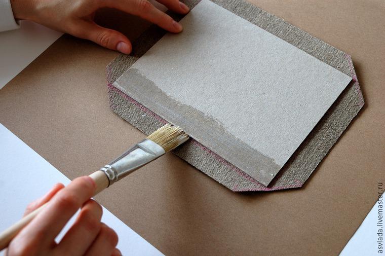 دستورالعمل های دقیق برای ساخت یک دفتر خاطرات ساده برای نوشتن ایده ها، عکس № 10