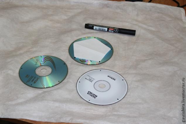 Жаңа CD-ден жаңа жылдық әшекейлер 21 | Док шебері
