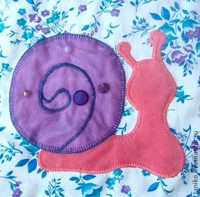 我们自己缝制了一个发展地毯,它自己,照片№11