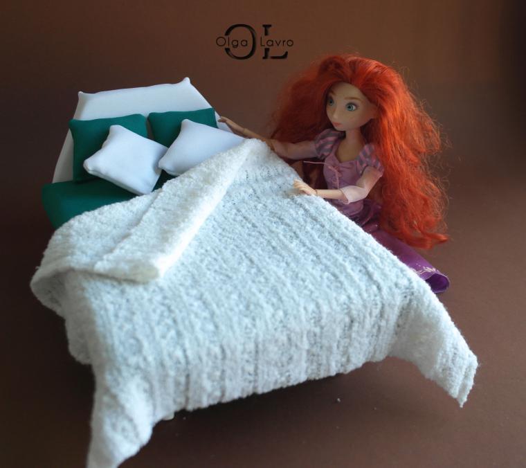 Делаем красивый дом и мебель для кукол Барби, фото № 18