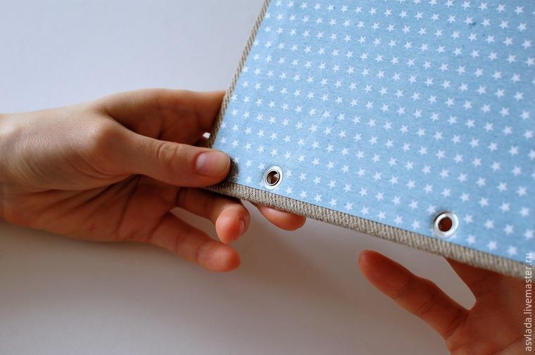 دستورالعمل های دقیق برای ساخت یک دفتر خاطرات ساده برای نوشتن ایده ها، عکس № 23