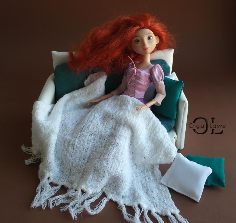 Делаем красивый дом и мебель для кукол Барби, фото № 15
