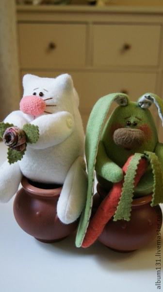 Machen Sie lustige Spielsachen aus Fleece, Foto № 15