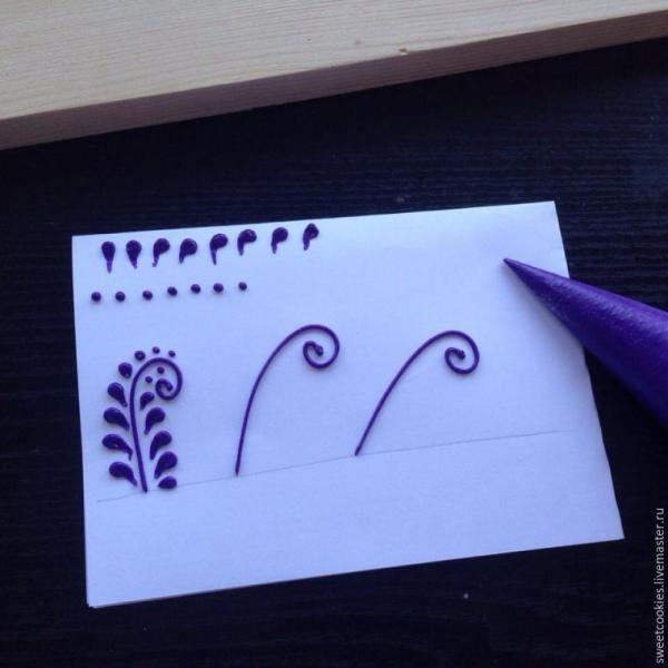 Расписываем пряники: делаем необычные свадебные ...