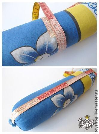 Tyynyliina tyynyllä rullan muoto, kuva № 3