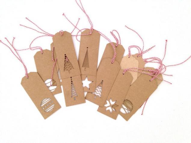 最终的条形码用于新年礼物的设计,或标签播放的角色,照片№2