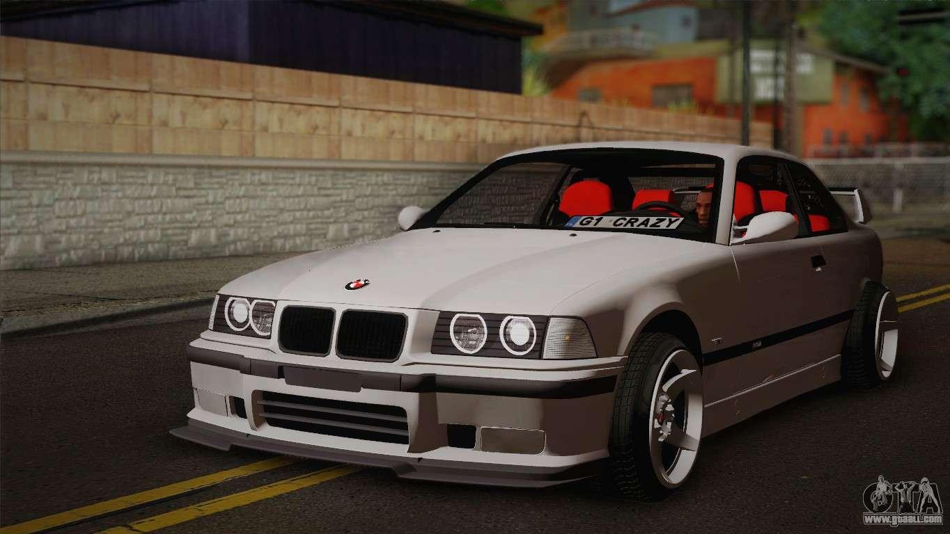 BMW M3 E36 For GTA San Andreas