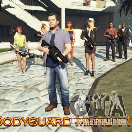 Bodyguard Menu v1.5 for GTA 5