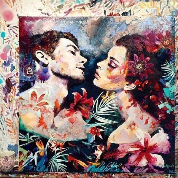 Обворожительные работы 16-летней художницы Dimitra Milan арт, художник, девушки, Dimitra Milan, длиннопост