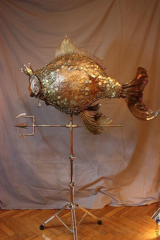 Золотая рыбка – купить в интернет-магазине на Ярмарке ...