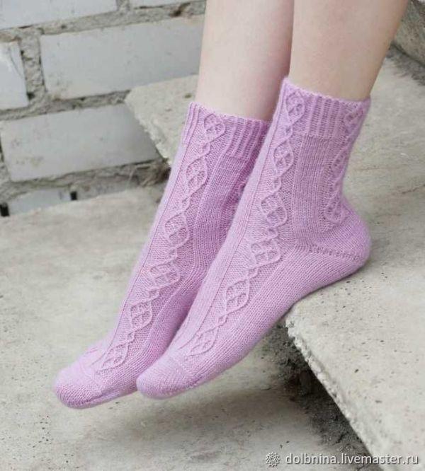 Схемы: МК по вязанию женских носков maze – купить на ...