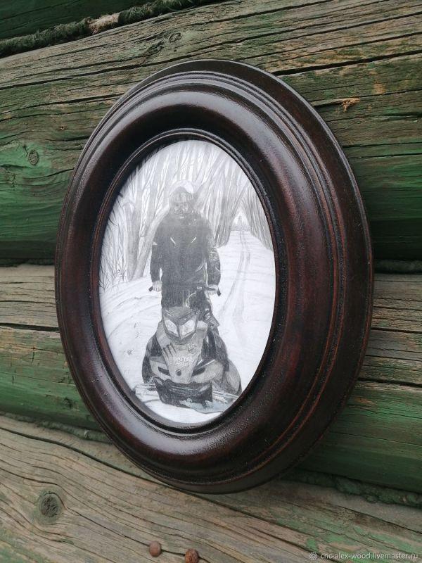 Овальная рамка для фото, вышивки, картины – заказать на ...