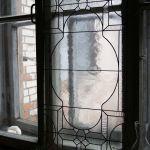 Stained Glass Window Geometric Window Shutter
