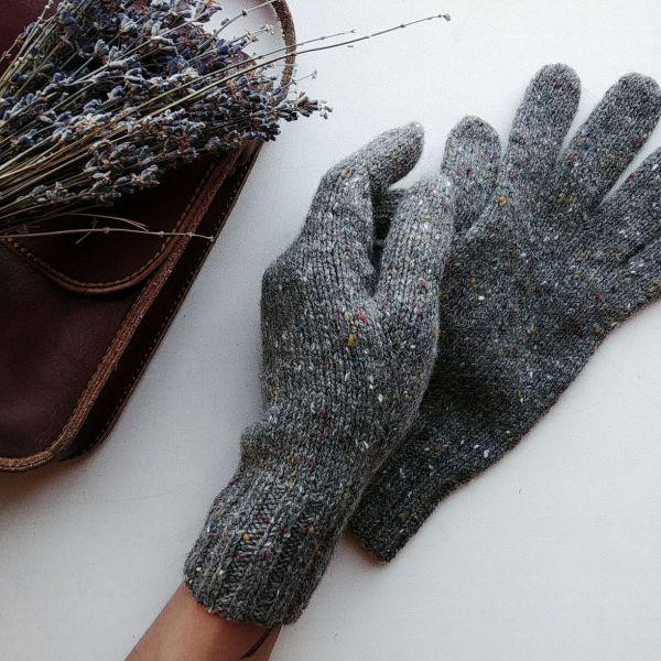 Перчатки вязаные женские – заказать на Ярмарке Мастеров ...