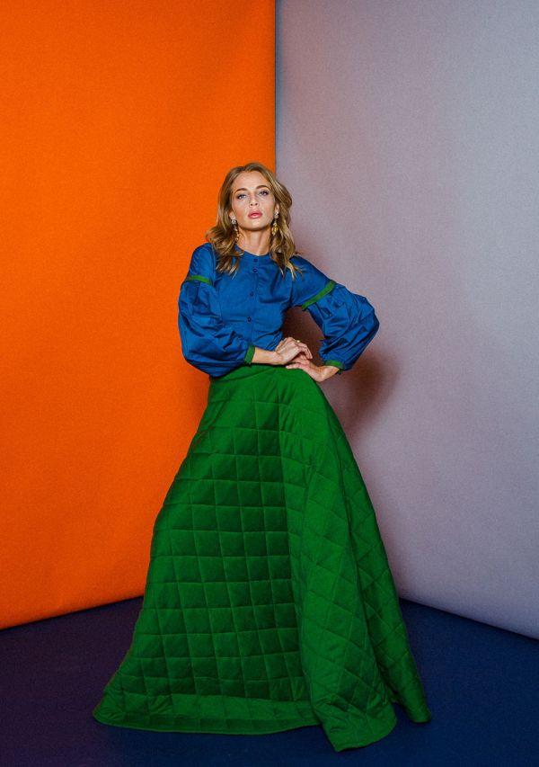 Утепленная стеганая юбка етти – купить на Ярмарке Мастеров ...