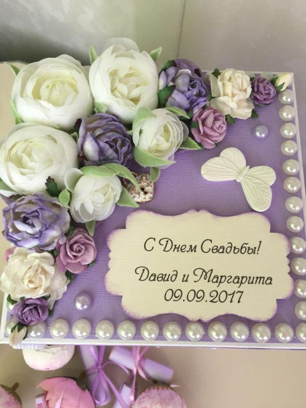 Коробочка на свадьбу с пожеланиями! – заказать на Ярмарке ...