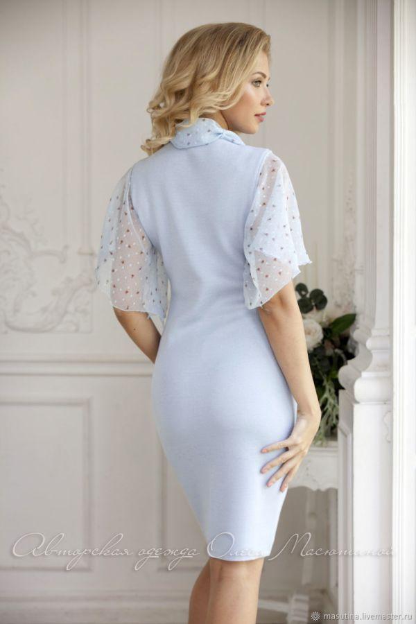 """Платье """"Прозрачное небо"""" – купить на Ярмарке Мастеров ..."""