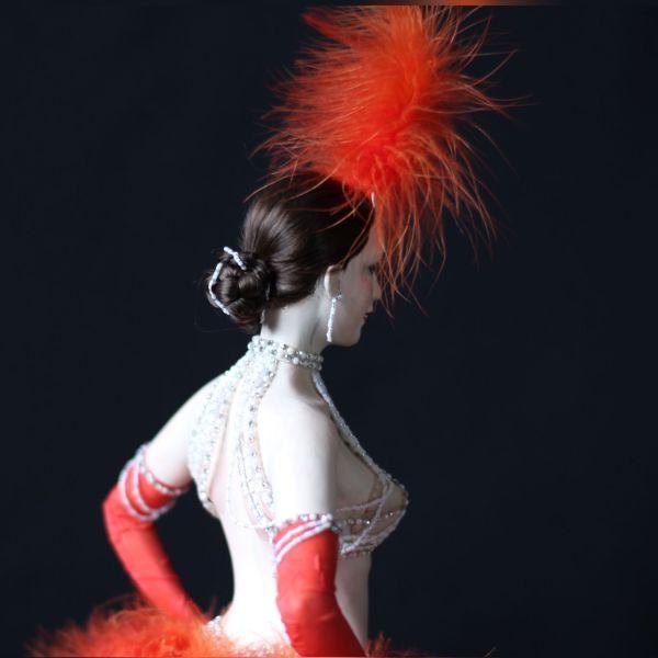 Статичная кукла «Танцовщица Мулен Руж» – заказать на ...