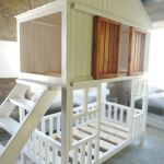 Two Tiered Children S Cabin Bed Made Of Solid Cedar Zakazat Na Yarmarke Masterov Efttpcom Krovati Turochak