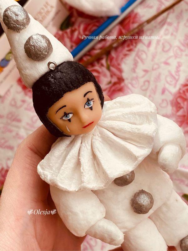 Игрушки из ваты – купить на Ярмарке Мастеров – MIYGCRU ...