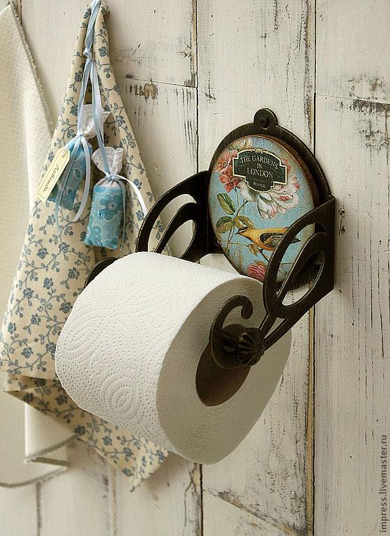 Держатель для туалетной бумаги Райская Птичка – купить на ...