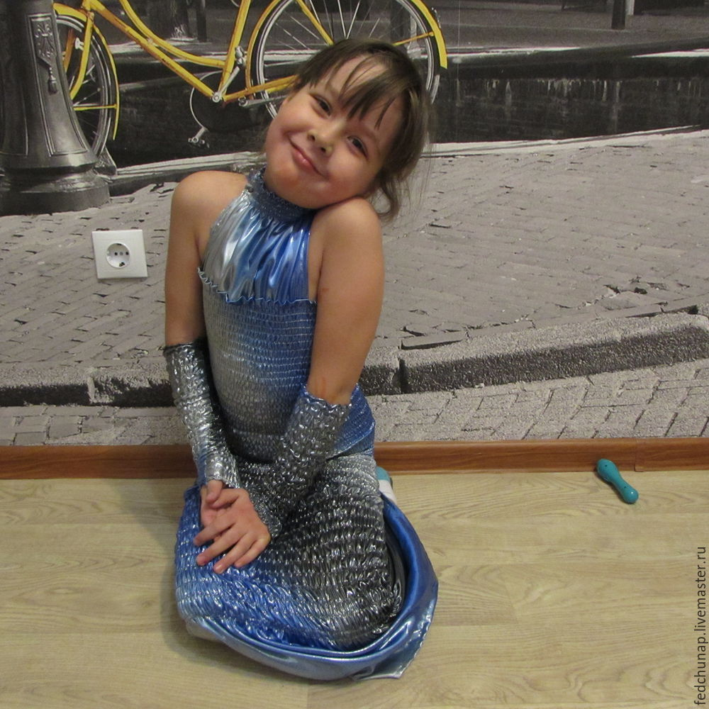 We naaien je eigen handen Kinderjaar 'Mermaid', Foto № 12