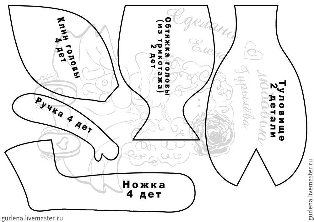 Тәжден өкшеден жасалған тоқыма қуыршақ, сурет № 2