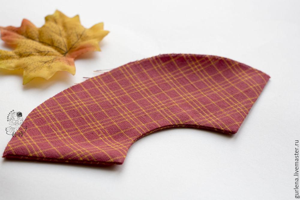 Textilpuppe von der Krone zu Fersen, Foto № 21