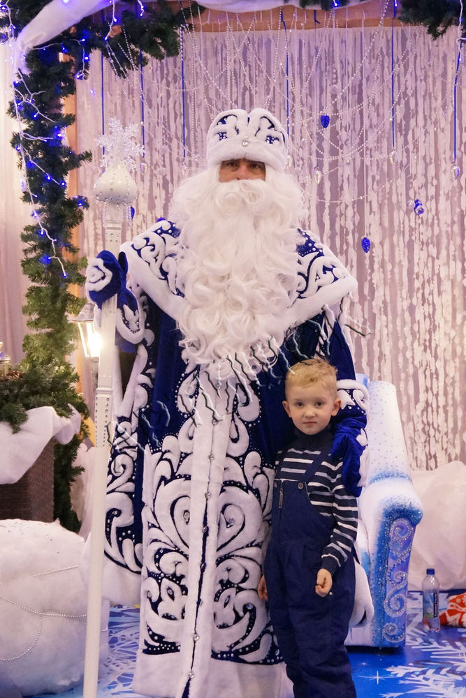 遇见圣诞老人。不要混淆圣诞老人,照片№19