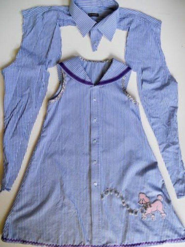 Превращения вещей идеи для переделки одежды. Часть 1, фото № 25
