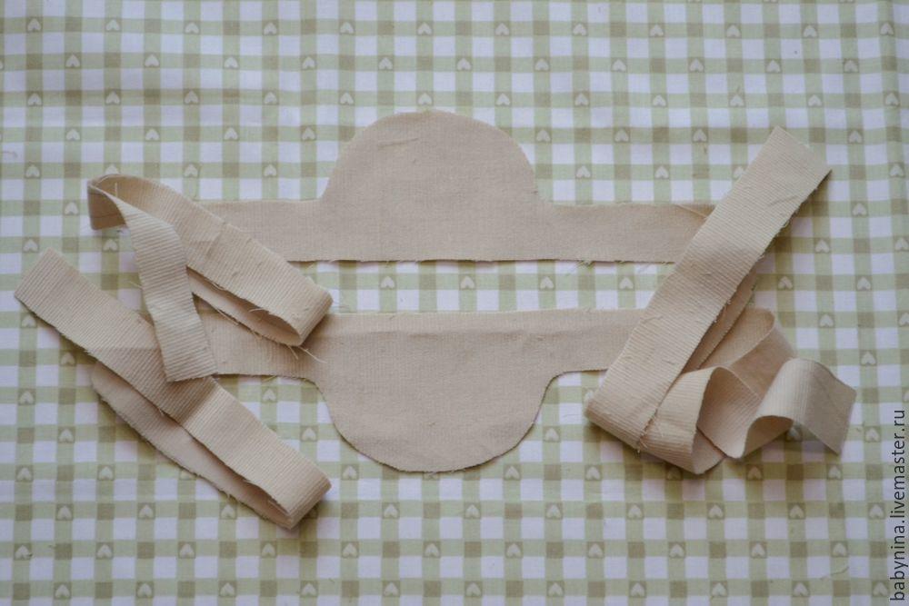 Cosemos un delantal limpio para una muñeca, foto número 14.