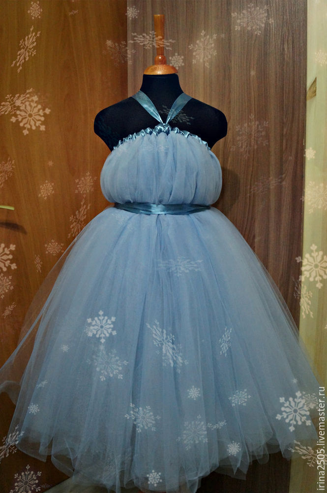 Создаем костюм «Снежинки» на Новый год, фото № 21