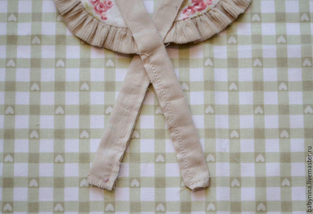 Cosemos un delantal limpio para una muñeca, foto número 11.