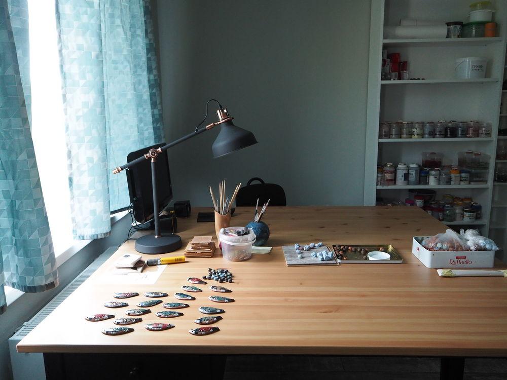 Идеалды студия шеберханасы немесе сіз көп уақыт өткізгіңіз келетін тамаша жұмыс орны