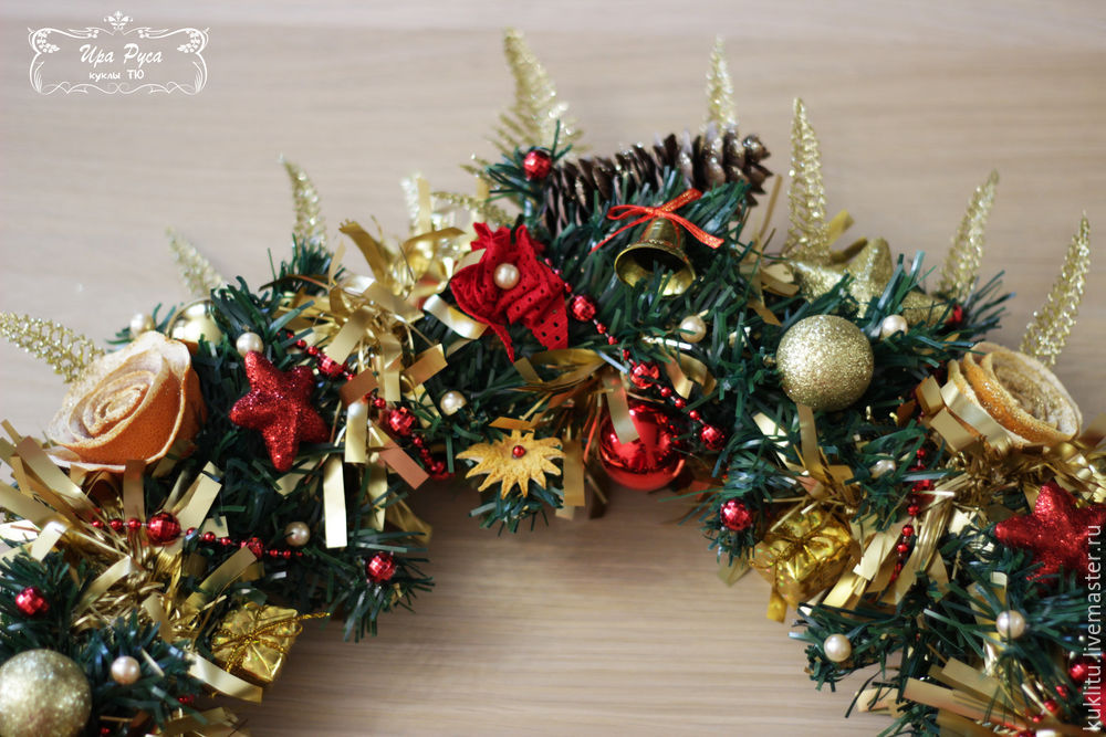 Создаем рождественский венок, фото № 34