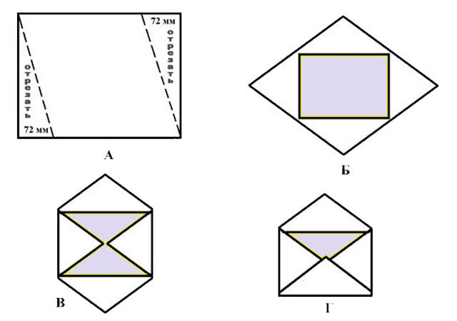 Красивые конверты своими руками, фото № 5