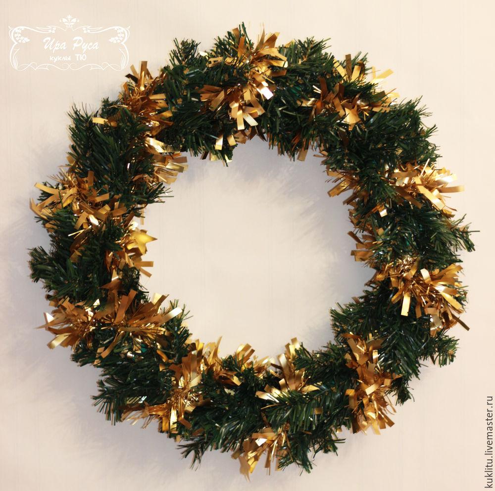 Создаем рождественский венок, фото № 13