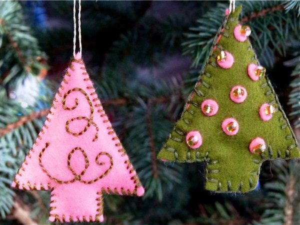 Create a New Year's mood: 50 ideas for a festive decor, photo # 31