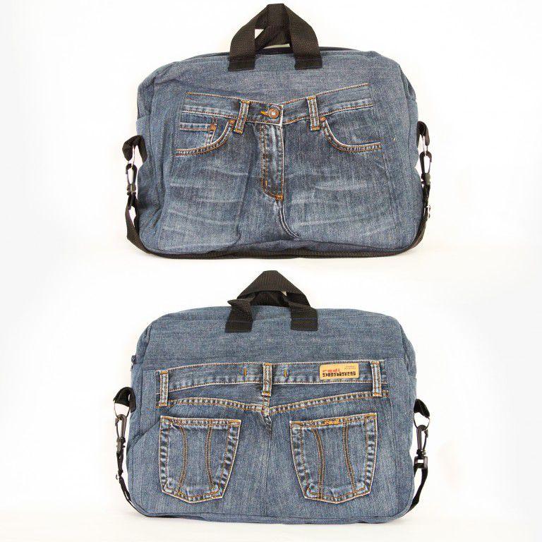 25 Gagasan Super untuk Kehidupan Kedua Jeans, Foto № 24