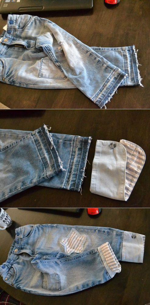 糸の上の世界で、または古い服から新しいスタイリッシュなものを作る、写真№43
