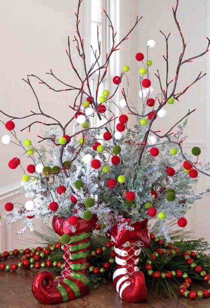 Создаём новогоднее настроение: 50 идей для праздничного декора, фото № 21