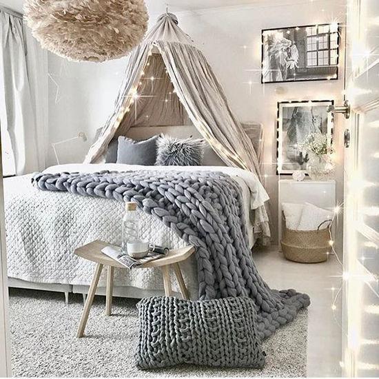 Enkla idéer för hemtak i sovrummet och inte bara, foto nummer 29