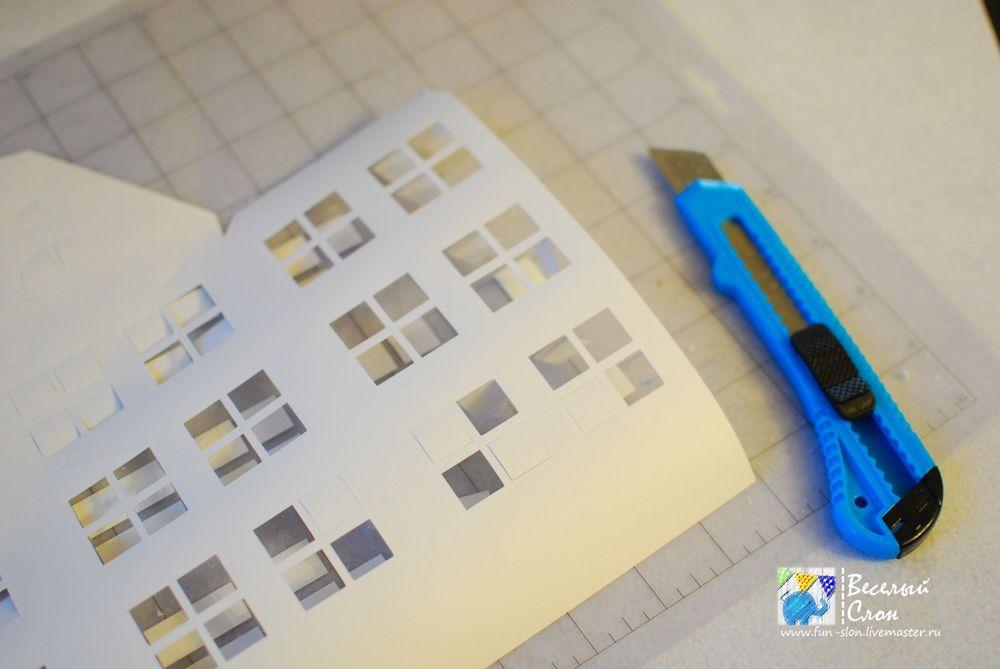 Vytvořit magické město z papíru, fotografie № 11