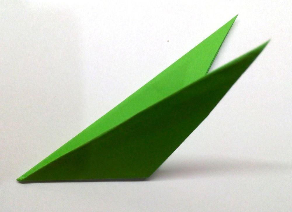 Vyřízněte z papíru Právě pětičlenná hvězda, fotografie číslo 6
