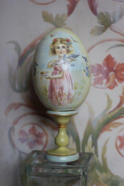 Светлый дар весны: художественная роспись пасхального яйца ...