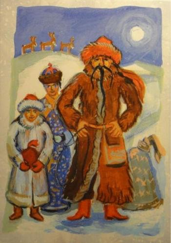 Batyushka คริสต์มาส (สหราชอาณาจักร)