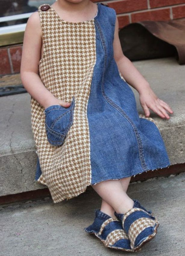 糸の上の世界で、または古い服から新しいスタイリッシュなことを作る、写真番号38