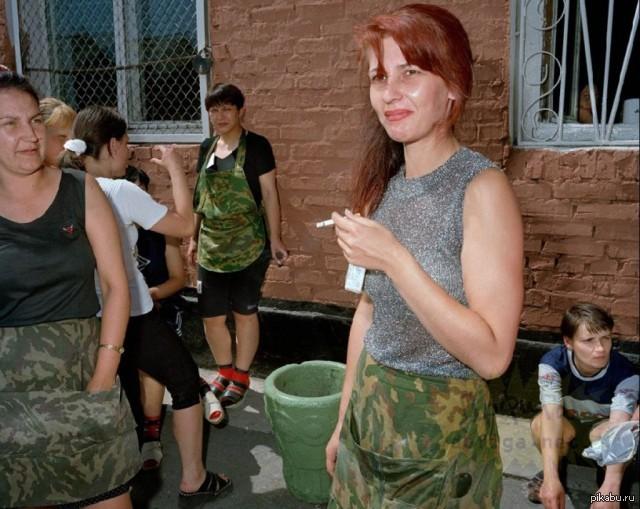 Женская тюрьма в России. Фото